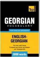 T&p English-Georgian Vocabulary 3000 Words