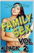 Family Sex - 4-Pack Vol 2: incest taboo family sex daddy daughter erotica daddy daughter father daughter mother and son erotica brother and sister brother sister creampie bareback pregnancy impregnation breeding