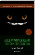 Alice in Wonderland: The Complete Collection [newly updated] (Book House Publishing)