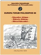 - Education éthique - / - Ethische Bildung - /- Ethical Education -