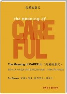 关爱的意义 (The Meaning of CAREFUL)