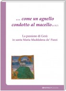 … come un agnello condotto al macello (Is 53, 7)