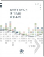Guidelines for Producing Statistics on Violence against Women (Chinese language)