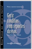 Managing Conflict with Direct Reports (Portuguese for Europe)