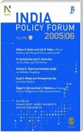 India Policy Forum, 2005-06