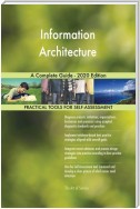 Information Architecture A Complete Guide - 2020 Edition