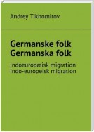 Germanske folk. Germanska folk. Indoeuropæisk migration. Indo-europeisk migration